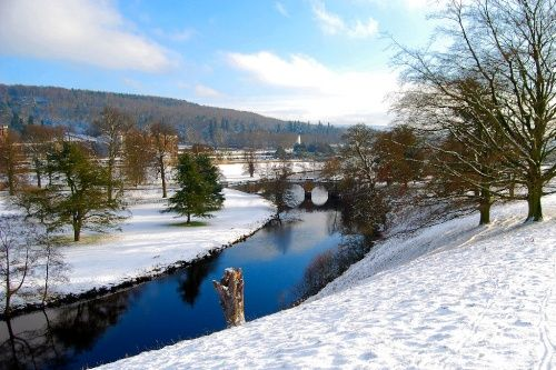 Chatsworth Park in the Winter