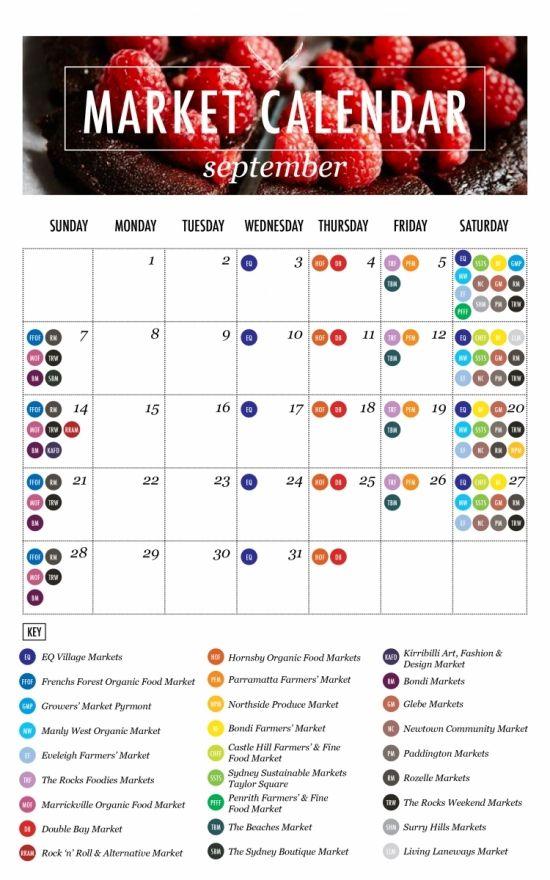 #TheUrbanList #September #Market #Calendar