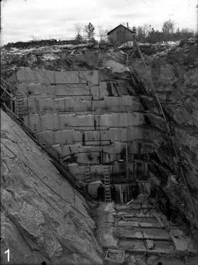 Soapstone quarry in Juuka.