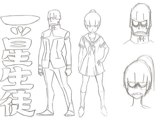 KILL LA KILL Character Sheets for Shirou, Fukuroda, Hakodate and... ★ || CHARACTER DESIGN REFERENCES (www.facebook.com/CharacterDesignReferences & pinterest.com/characterdesigh) • Love Character Design? Join the Character Design Challenge (link→ www.facebook.com/groups/CharacterDesignChallenge) Share your unique vision of a theme every month, promote your art and make new friends in a community of over 20.000 artists! || ★