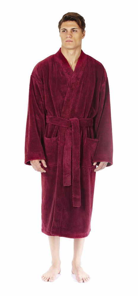 8e36541c86 Arus Men s Kimono Fleece Bathrobe Turkish Soft Plush Robe  fashion  clothing   shoes  accessories  mensclothing  sleepwearrobes (ebay link)