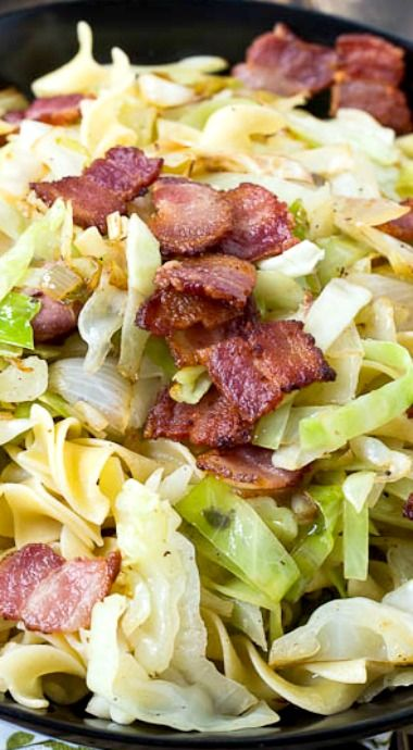 Cabbage and Noodles