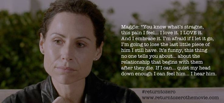 Return to zero quote from maggie.. #baby #loss #grief