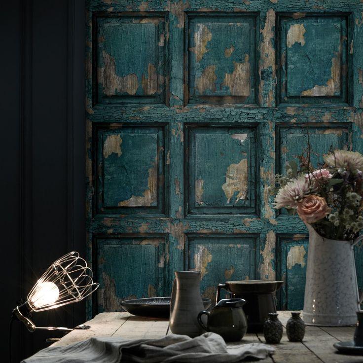 www.koziel.fr 9014-thickbox_default papier-peint-boiserie-anglaise-antique-bleu-canard.jpg