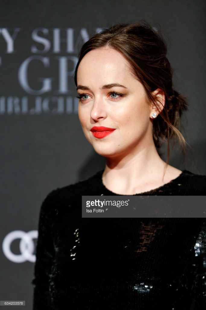 US actress Dakota Johnson (daughter of Melanie Griffith and Don Johnson) attends the European premiere of 'Fifty Shades Darker'(German title 'Fifty Shades Of Grey - Gefaehrliche Liebe) at Cinemaxx on February 7, 2017 in Hamburg, Germany.