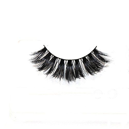 3D Mink False Eyelashes Premium Reusable Eyelash Extensions Hand-made Fake Lashes 1 Pair Pack. False Eyelashes 3d Mink Fake Eyelashes For makeup 1 Pair Pack Reusable with proper care. Mink Eyelashes Hair:Made Of 100% Siberian Mink Eyelashes,Vivid And Shiny And Long Lifespan. A Light &Soft Handcrafted Cotton Band Results in An Easy to Apply and Comfortable Pair of Lashes. Healthy Natural Fake Eyelashes:Free from Chemical Treatment &Hypo-allergenic &Cruelty-free. Package:1 pair of false…