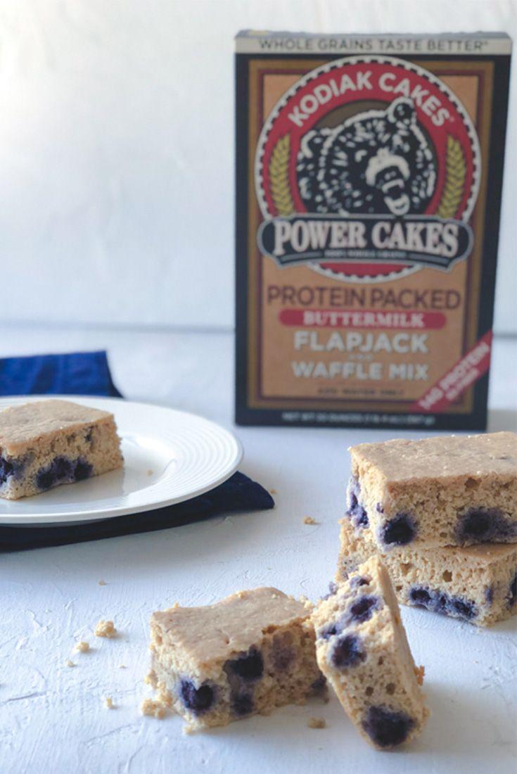Blueberry Protein Bars Made With Kodiak Cakes Fueling A Southern Soul Recipe Kodiak Cakes Protein Cake Kodiak Cakes Protein