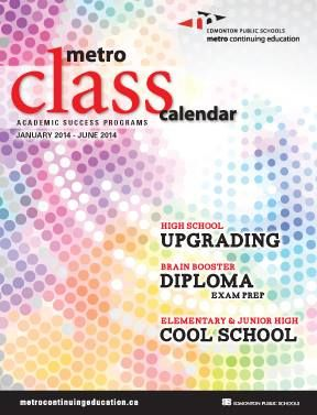 Our winter 2014 Academic Class Calendar is now out! Browse the calendar for courses for students in Grades 1-12, plus adult learners!