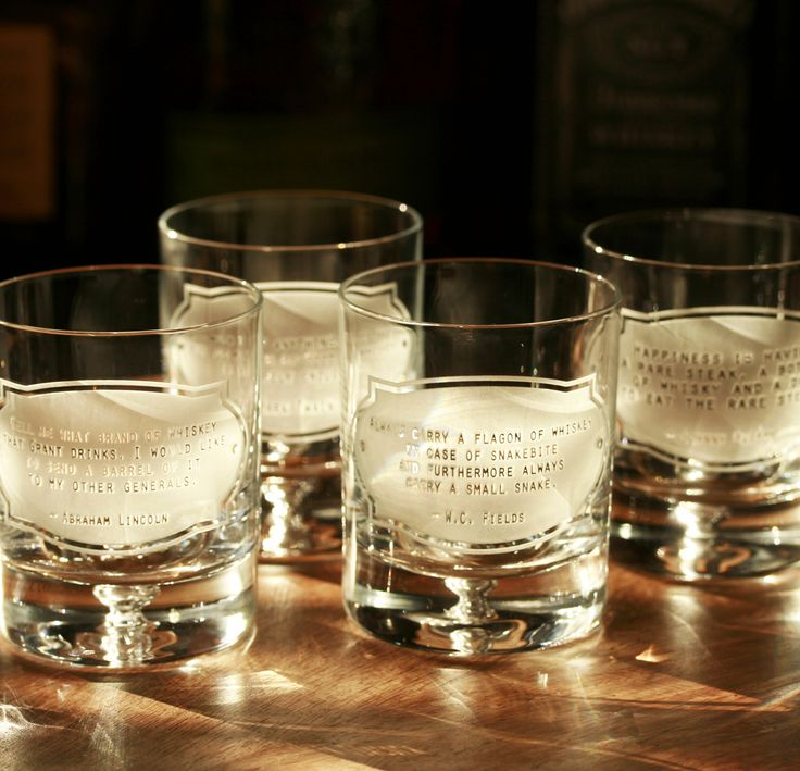115 best engraved whiskey  scotch and bourbon glasses images on pinterest