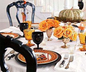 Оформление свадьбы «Хэллоуин»