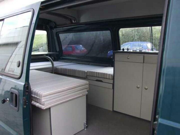 L300 Camper Van Interior Vanning Camping Pinterest