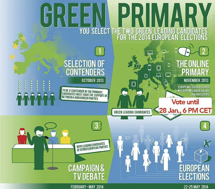 The #European #elections have already started. The #Green #Primary lets you cast your vote online until tomorrow and holds a public #debate between they candidates tonight. More about it at http://one-europe.info/the-european-election-has-already-started