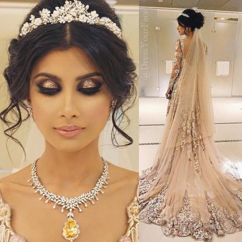 Hair And Makeup By Dressyourface Desi Bridal Shaadi Indian Stani Wedding Mehndi Walima