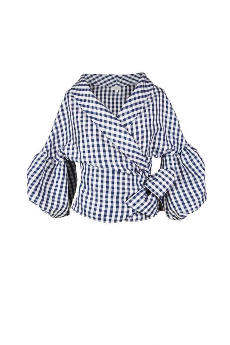 Coosy - Camisa Campera Navy