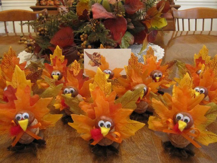 Best unique thanksgiving decorations images on