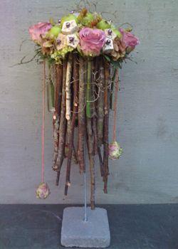 Flower arrangemtn with branches ~ Artiflora