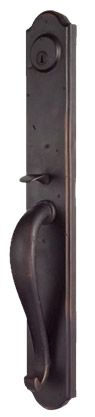 Entry Door Hardware - Deadbolts and Pull Handles | Abby Iron Doors