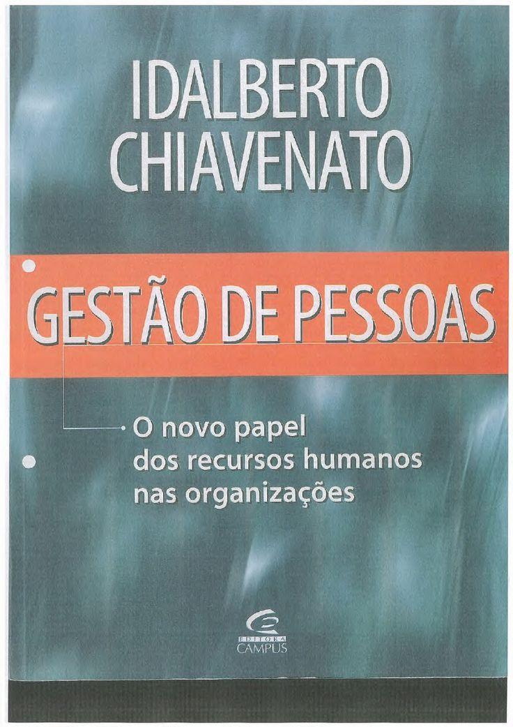 CHIAVENATO Gestão de Pessoas   Michele Pinheiro - Academia.edu