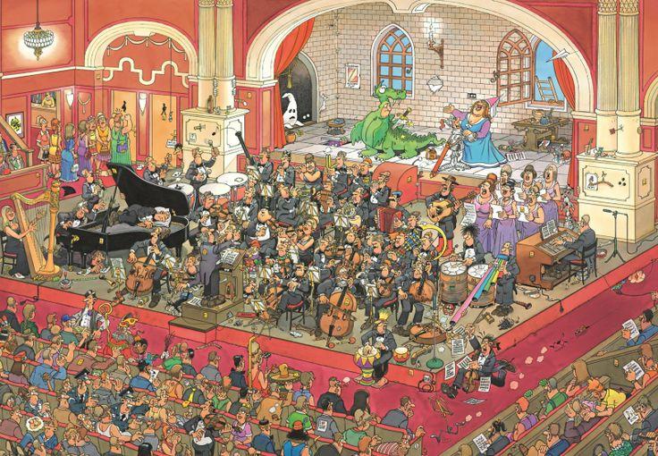 Jan van Haasteren - De Opera