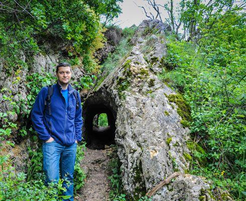 Cheile Nerei : traseul La Tunele