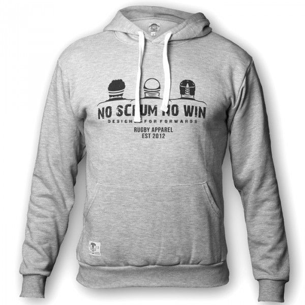 Rugby hoodie. Scrum. Designed for Forwards. But Backs can wear too :)