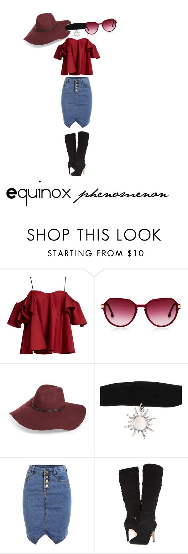 """Equinox"" by nimas on Polyvore featuring Anna October, Halogen and GUESS"