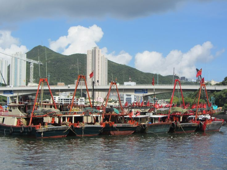 Floating Village- HongKong