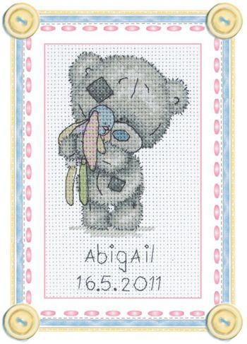 Tiny Tatty Birth Celebration - Cross Stitch Kit
