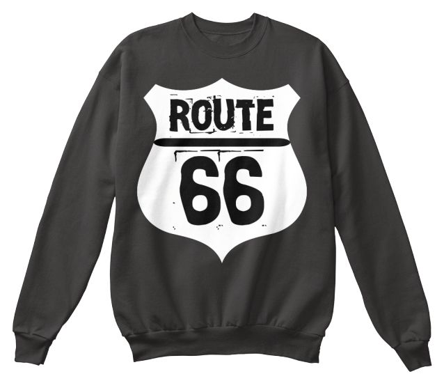 Gen Z Route 66 tops and tote bags design, multiple colors available.