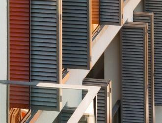 Palazzo Dorottya, Budapest, #árnyékoló, #építészet, #tolható, #alumínium, #zsalu, #harmónika