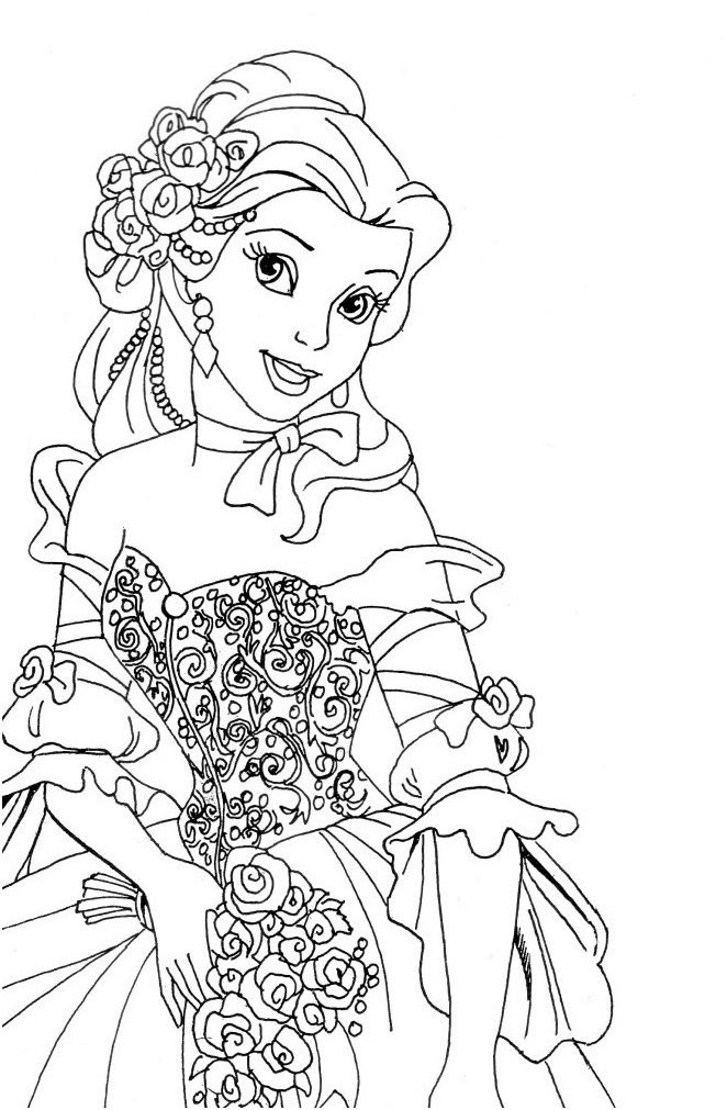 9 Incroyable Coloriage Princesse Disney À Imprimer Pictures | Coloriage princesse, Coloriage ...