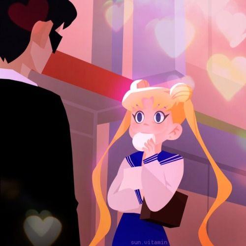 "sun-vitamin: ""Sailor Moon scene redraw """