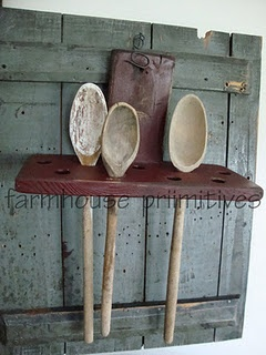 Farmhouse Primitives My Butt! I prefer Wooden Spoons & Spatulars to metal any day! LD.