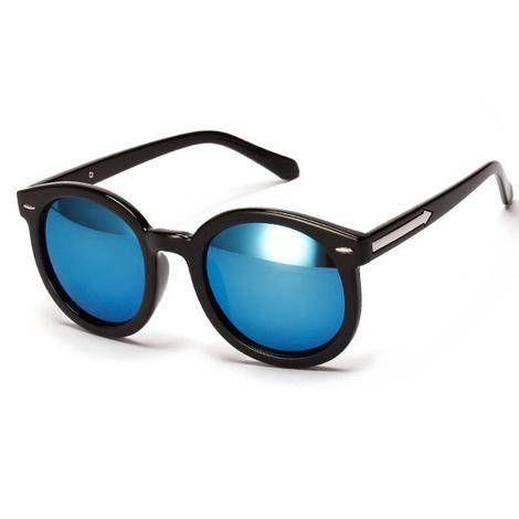Retro Blues Sunglasses