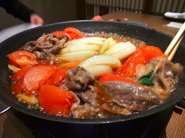 Tomato Sukiyaki