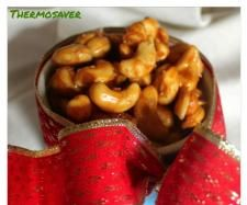 Recipe Spicy Salted Caramel Cashews by Thermosaver Jo - Recipe of category Starters