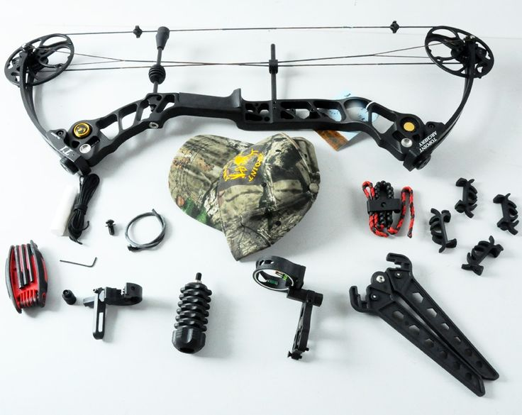 398.05$  Buy now - http://aliipr.worldwells.pw/go.php?t=32601462449 - Left handed Black Hunting compound bow and arrow set Draw weight 15-70Lb adjustable Archery CNC machining riser 398.05$
