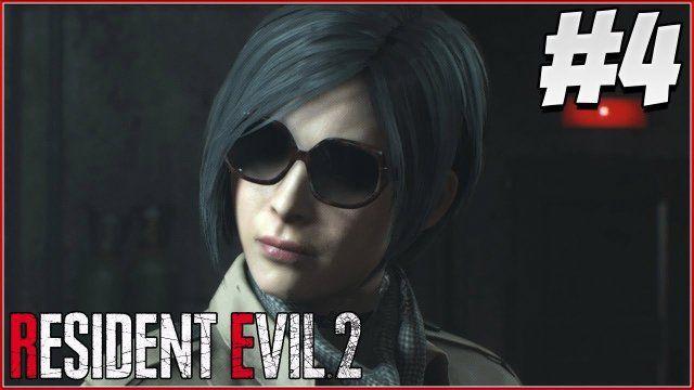 Ada Wong Resident Evil 2 Remake Gameplay Part 4 Re2 Leon