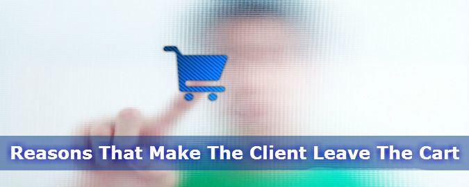 """Article about """"Reasons That Make The Client Leave The Cart"""". Learn more at: http://www.esds.co.in/blog/reasons-that-make-the-client-leave-the-cart/  To Know More About Our eCommerce Hosting Solution Please Visit: https://www.esds.co.in/ecommerce-hosting.php"""