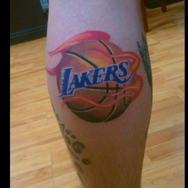 240 best lakernation images on pinterest los angeles for La lakers tattoo