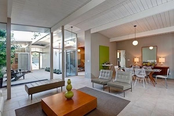 My favorite thing about Eichler's is the atrium.  It's almost like a secret.