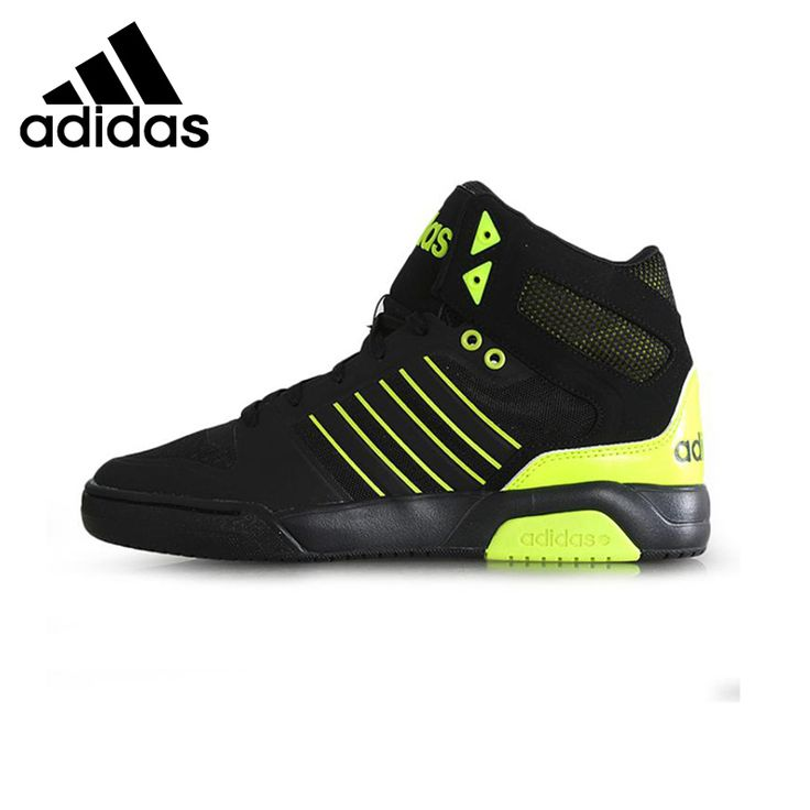 Original    Adidas NEO men's Skateboarding Shoes High top sneakers