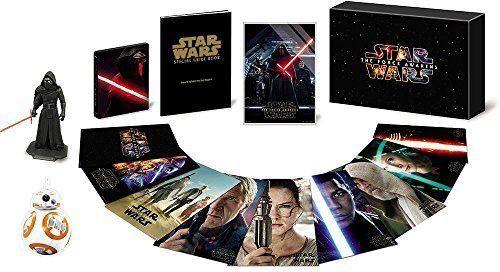 STAR WARS Force Awakens Premium Blu-ray DVD Steelbook BOX 2016 BB-8 from Japan
