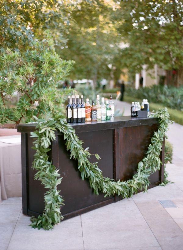 bayleaf or eucalyptus garland for bars
