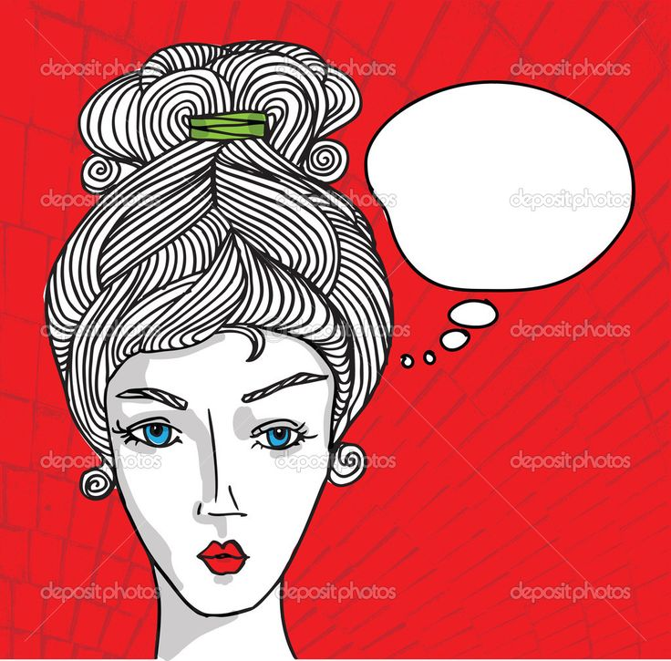 Abstract sketch of woman face. Vector illustration. — Stock Vector ...