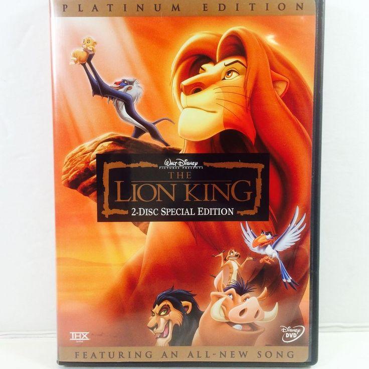17 Best Ideas About Lion King Dvd On Pinterest