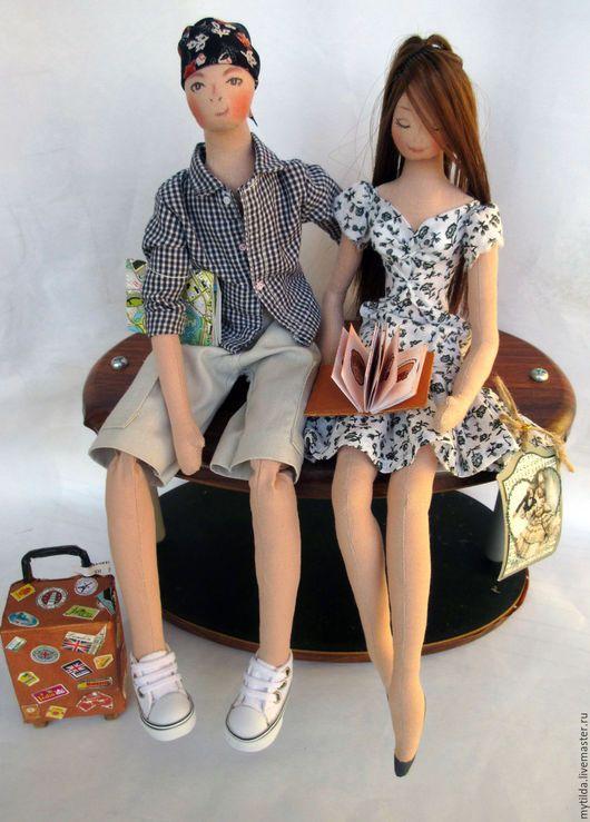 Коллекционные куклы ручной работы. Ярмарка Мастеров - ручная работа. Купить Молодожены. Handmade. Молодоженам, свадебный сувенир, Семейный портрет