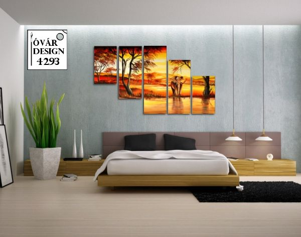 Hangulatos otthonok dekor festményekkel. A kézi festés textúrája a melegséget árasztó színek egyedi harmóniával töltik meg nappalid vagy akár a hálószobád. Nézd meg az Óvárdesign webáruház kínálatát.