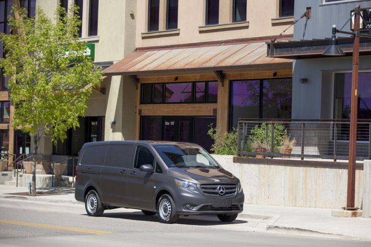 """The 2016 Mercedes-Benz Metris was named the """"Best Commercial Vehicle"""" by the Texas Auto Writers Association at the Texas Truck Rodeo"""