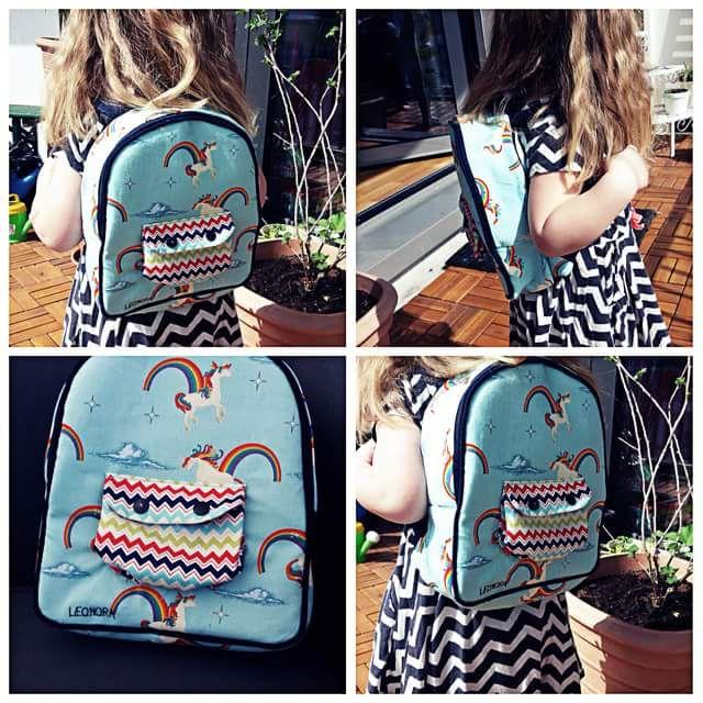 rucksack made by lisa k